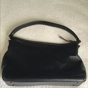 KATE SPADE : black leather bag